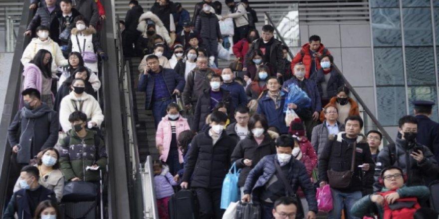 Pekin'de Maske Takmayanlar Gözaltına Alınacak