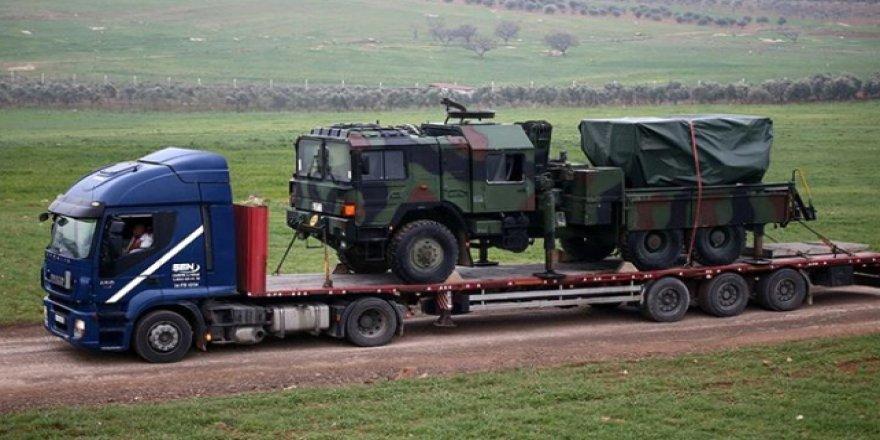 Sınır Birliklerine Çok Namlulu Roketatarlar Sevk Edildi