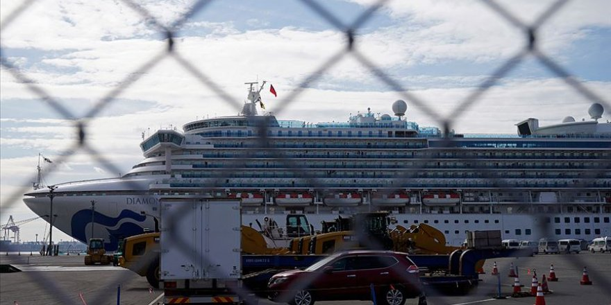 Japonya'da Karantina Altındaki Gemide 44 Kişide Koronavirüs Daha Tespit Edildi