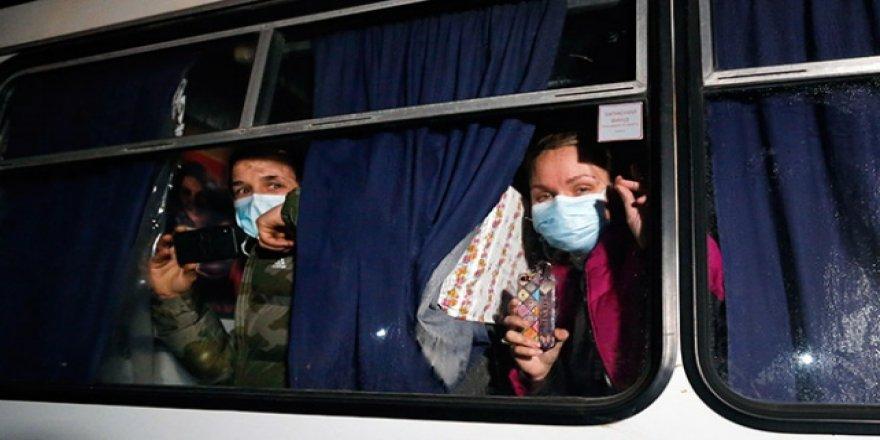 Wuhan'daki Ukraynalıların Ülkeye Getirilişi Protesto Edildi