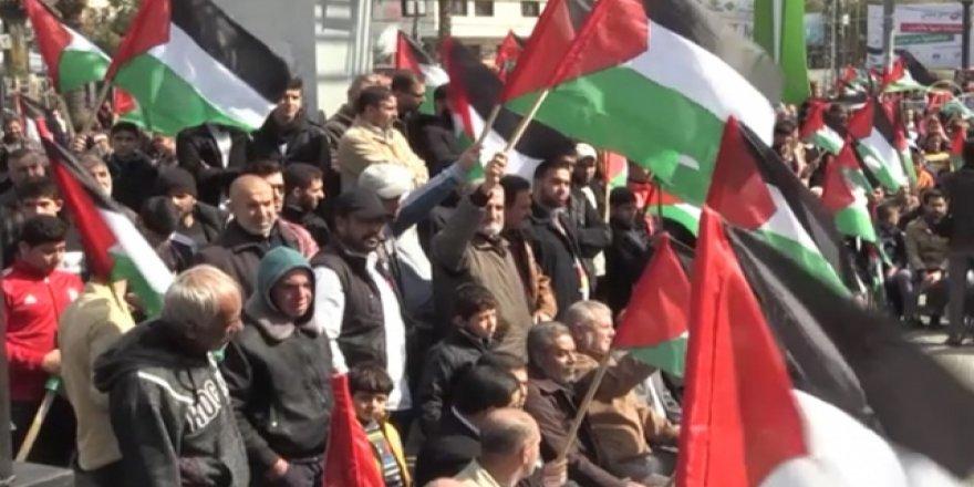 Trump'ın Planı Gazze'de Protesto Edildi
