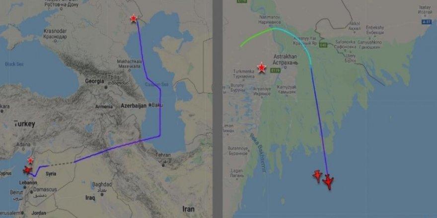 """Rus Medyası: """"Türkiye, Suriye'ye Giden Rus Uçaklarına Hava Sahasını Kapattı"""""""