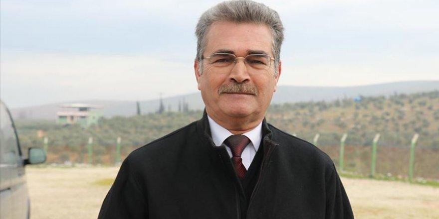 Suriye Türkmen Meclisi Başkanı Cuma: Türkiye İdlib'de İnsanlık Adına Bulunuyor