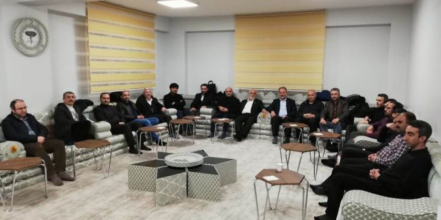 Mazlum-Der'den Diyarbakır Özgür-Der'e Ziyaret
