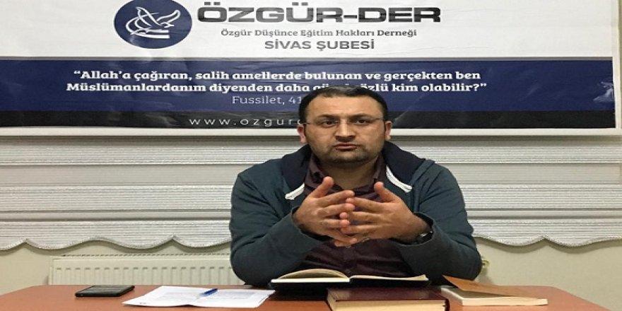 Sivas Özgür-Der'de Kitap Tahlili Gerçekleştirildi