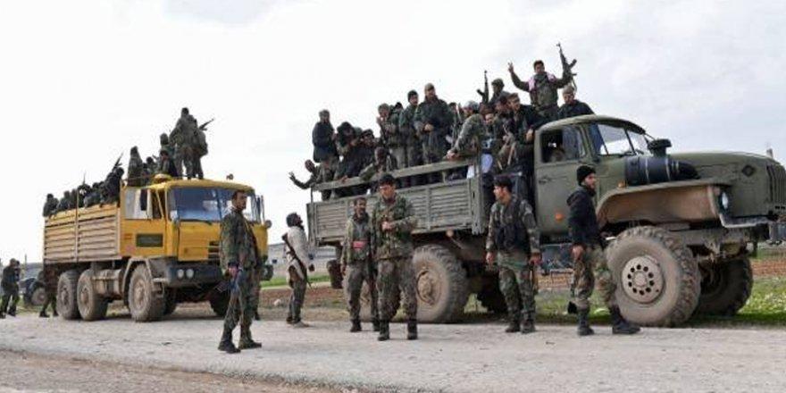Esed Rejimi İdlib'e Askeri Yığınak Yapıyor