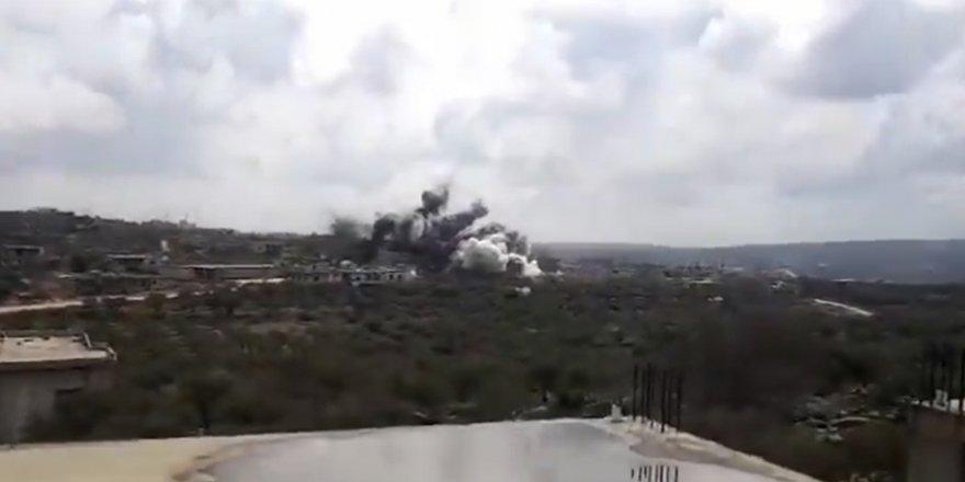 Rus Savaş Uçakları TSK Konvoyunun Geçişi Sırasında Bara Köyünü Bombaladı