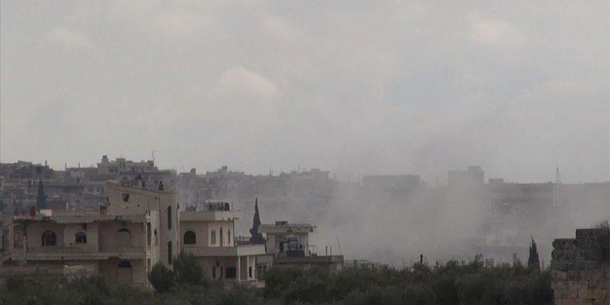 İdlib'de 18 Sivil Yerleşim Yeri İşgalci Rus Bombardımanı Altında
