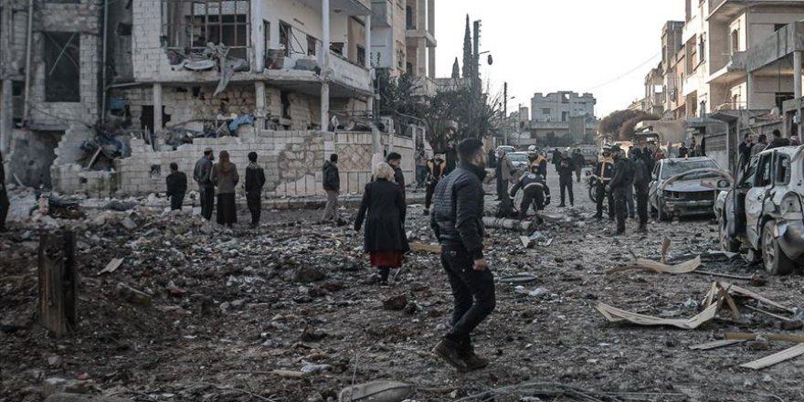 Rusya İdlib'te 4 Sivili Katletti