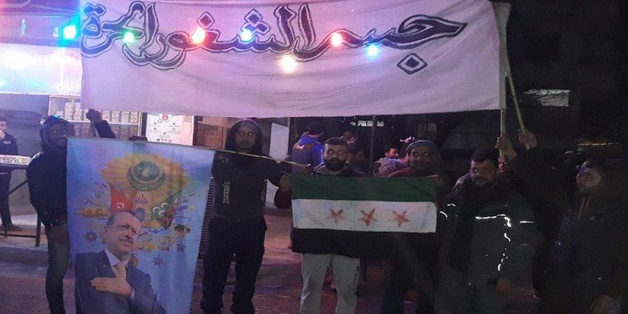 İdlib Halkı Türkiye İçin Sokaklarda