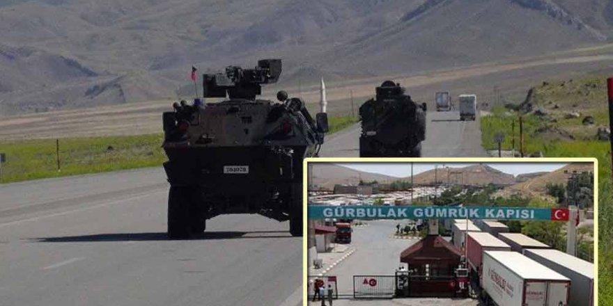 Ağrı'nın İran Sınırında Gümrük Personeline Saldırı
