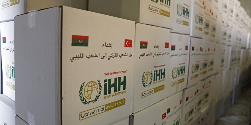 İHH'dan 5 bin Libyalıya İnsani Yardım