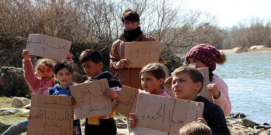 Edirne'deki Göçmen Çocuklar Vicdanlara Seslendi