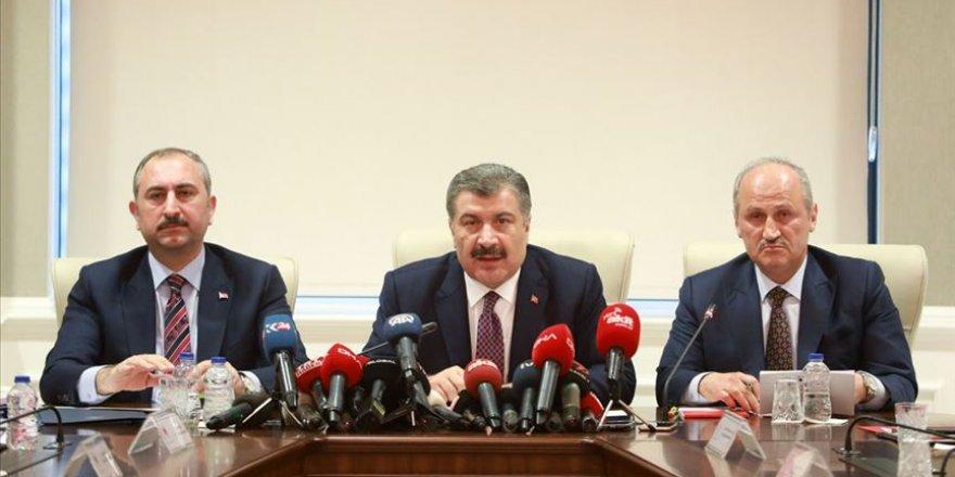Sağlık Bakanı Koca: Vaka Sayısı 5'e Yükseldi