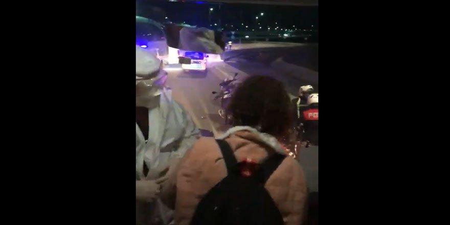 Fransa'dan Gelen İki Yolcunun Karantina Otobüsünden Alınması Hakkında Soruşturma Açıldı