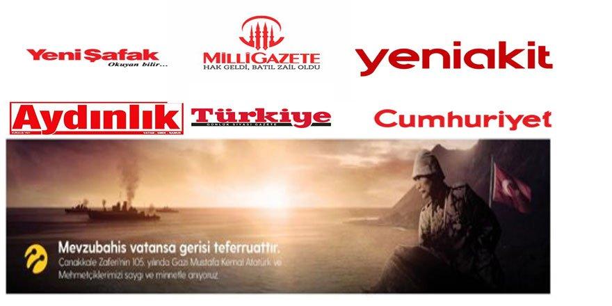 Turkcell Reklamlarıyla Tarih Yalan Bataklığında Boğuluyor