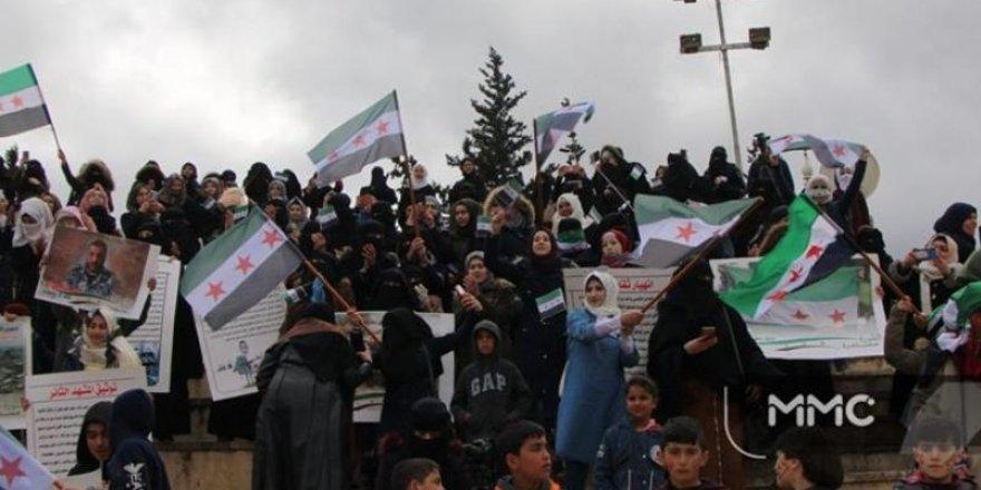 İdlib'de Suriye Devriminin 9. Yıldönümü Kutlanıyor