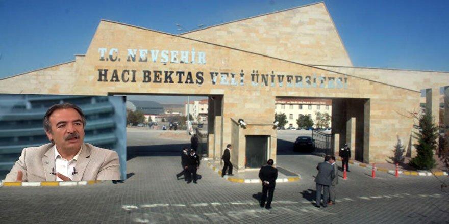 Mazhar Bağlı Rektörlükten Alındı