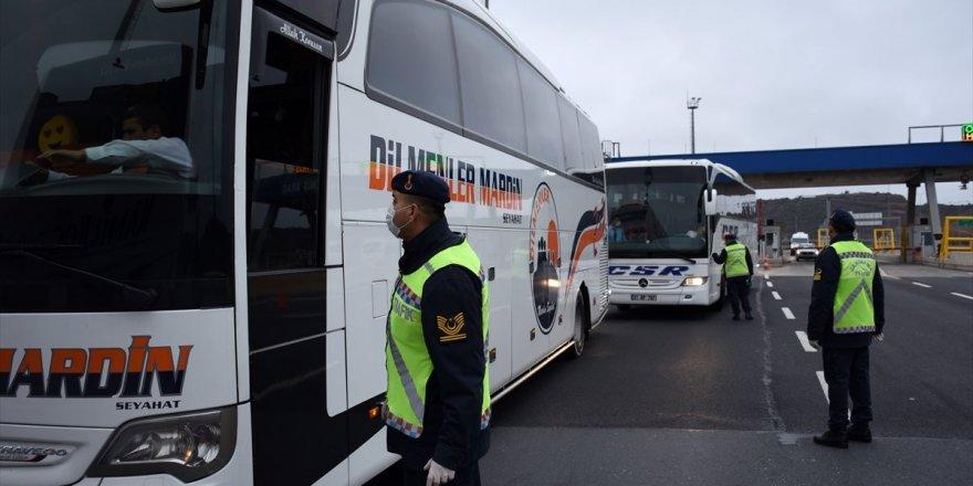 İstanbul'dan Otobüsle Şehir Dışına Çıkışlar Durduruldu