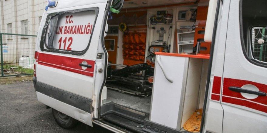 Ambulansın Camlarını Kıran Yaratıklar Tutuklandı