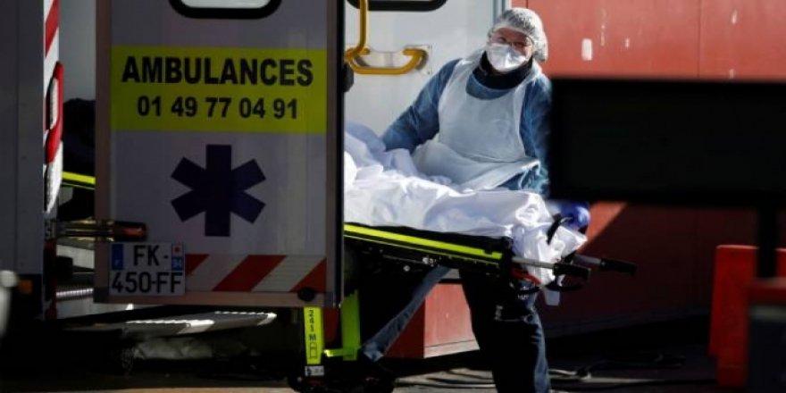 Fransa'da Ölü Sayısı 3 Bini Geçti