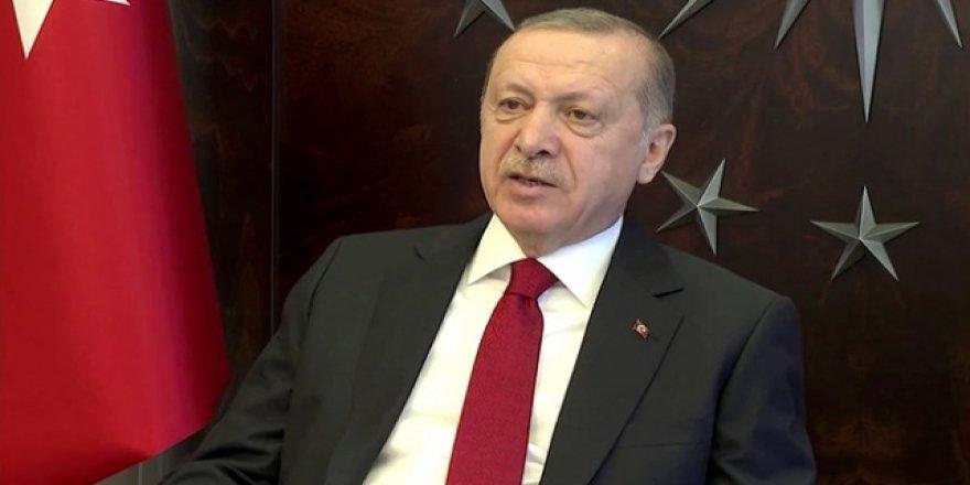 Cumhurbaşkanı Erdoğan: Kampanyayı Devletimiz Yürütüyor