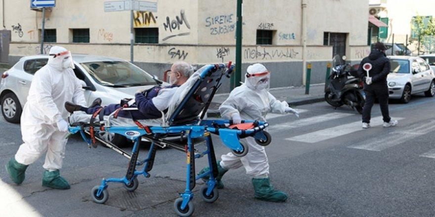 İtalya'da Son 24 Saatte 766 Kişi Daha Hayatını Kaybetti