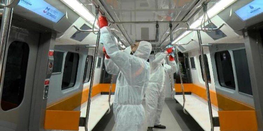 İstanbul'da Metro Seferleri Saat 21.00'e Kadar Yapılacak