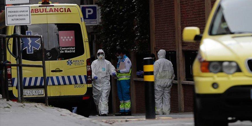 İspanya'da Koronavirüsten 674 Kişi Hayatını Kaybetti