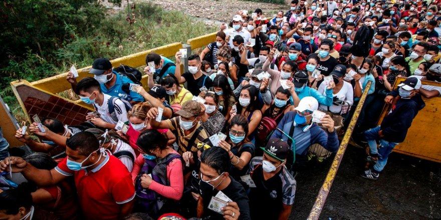 Koronavirüs Tehdidi Venezuela'dan Kolombiya'ya Göçü Zorlaştırdı