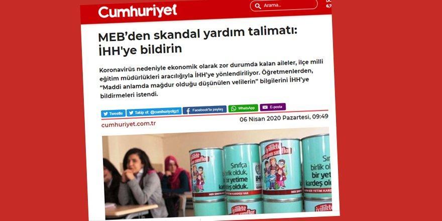 Fakir Ailelerin İHH'ya Yönlendirilmesi Bile Kemalistleri Rahatsız Ediyor!