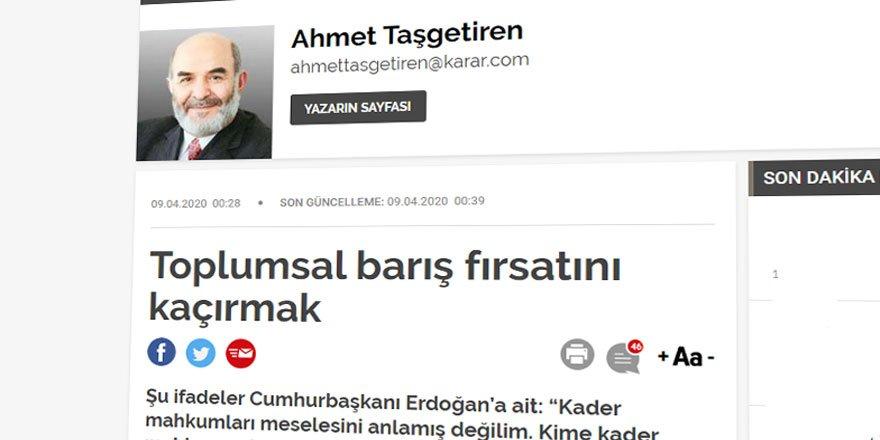 Cumhurbaşkanı Erdoğan'ın 'Af' Beyanları Işığında Bugünkü Af Tasarısını Anlamlandırmak