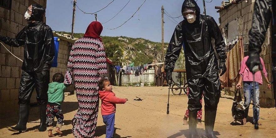 Filistin'de koronavirüs vaka sayısı 50 bine yaklaştı