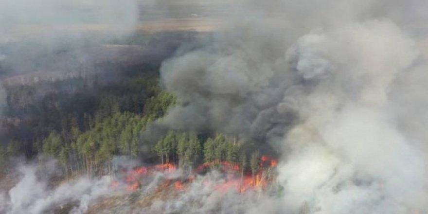 Ukrayna'da Nükleer Tesis Yakınındaki Yangın Söndürüldü