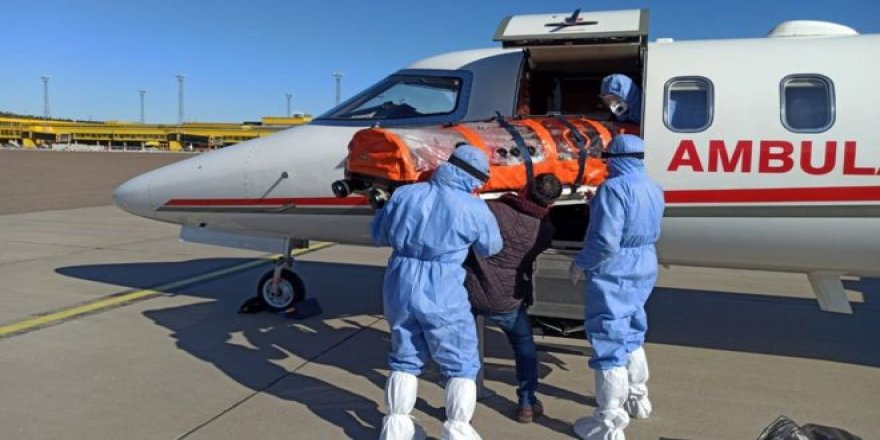 İsveç'te Tedavi Göremeyen Hasta Türkiye'ye Getirildi