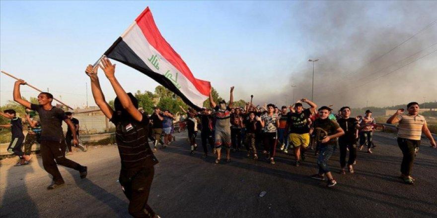 Irak'taki Gösterilerde 7 Kişi Yaralandı