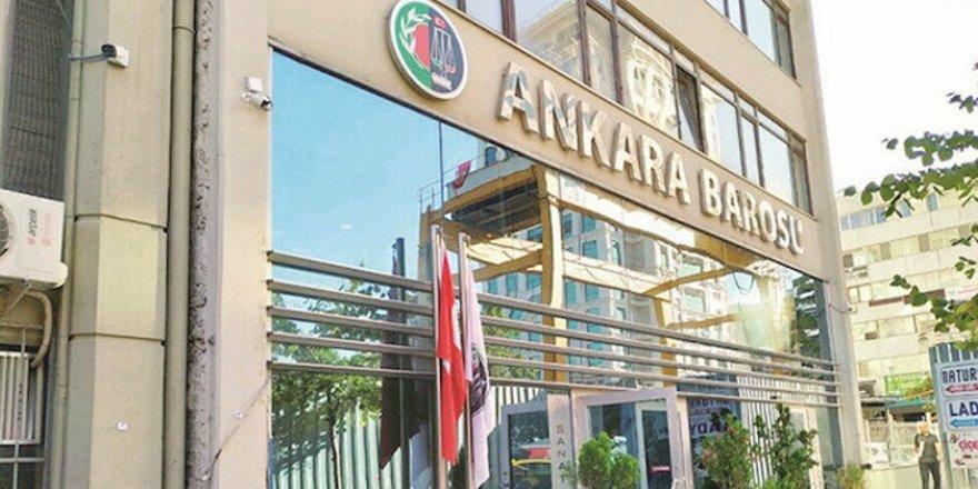Ankara Barosu'nun Edepsizliğine CHP de Destek Verdi