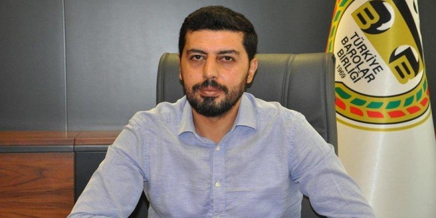 Batman Barosu Başkanı Abdulhamit Çakan'dan Ali Erbaş'a Destek