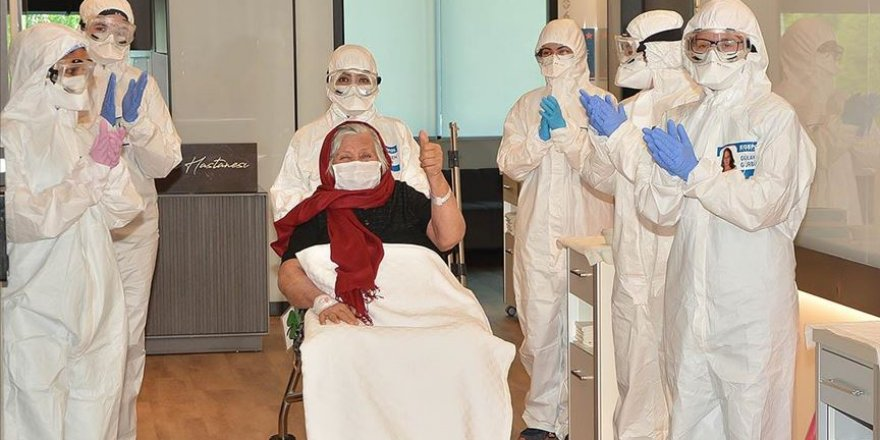 Türkiye'de Kovid-19'dan İyileşen Hasta Sayısı 83 Bine Yaklaştı