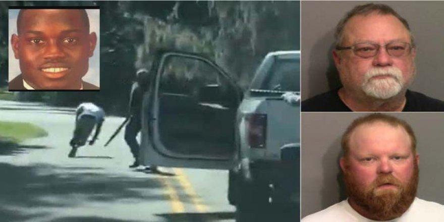 ABD'de Baba ve Oğul Koşu Yapan Siyahiyi Vurarak Öldürdü!
