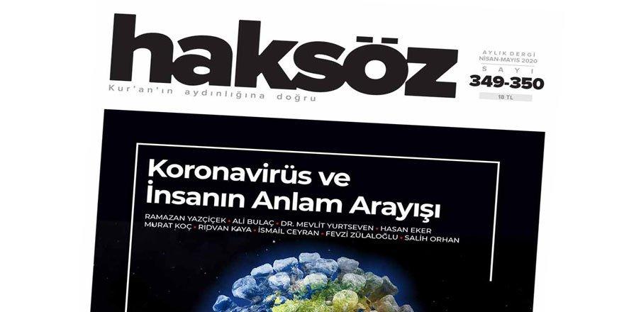 Haksöz'ün Yeni Sayısını Dergi Editörü M. Ali Aslan Değerlendirdi