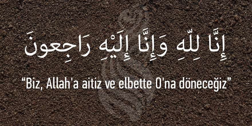 Mehmet Gönül Kardeşimizin Babası Vefat Etti