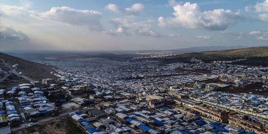 İdlib'de Son 3 Haftada Çadır Kamplarda 7 Yangın Çıktı