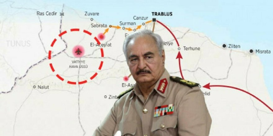 Libya Ordusu Hafter Milislerinin İşgalindeki Vatiyye Askeri Üssü'nde Kontrolü Sağladı