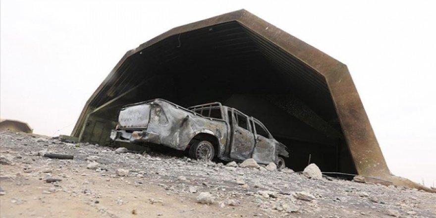 Libya Ordusundan Vatiyye Üssü'nden Kaçan Hafter Milislerine Hava Harekatı