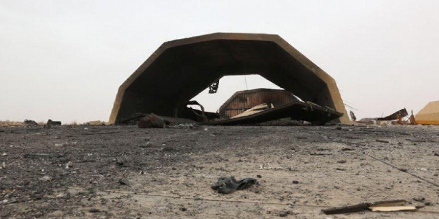 Libya Ordusu Hafter'in Yakıt Tankerlerini Vurdu