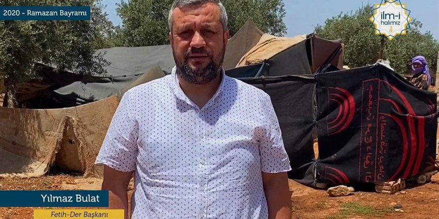 İdlib'den Bayram Tebriği ve Yardım Çağrısı