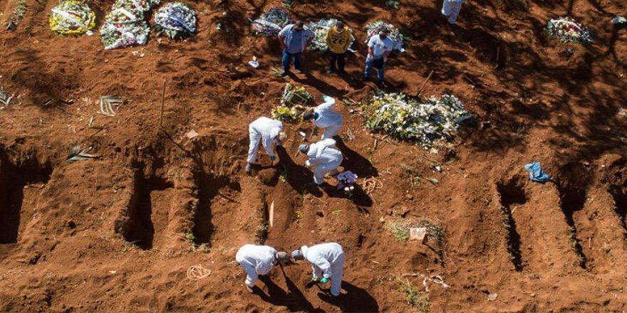 Brezilya'da Kovid-19'dan 1156 Kişi Daha Hayatını Kaybetti