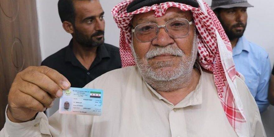 Tel Abyad Nüfus Müdürlüğü Hizmete Girdi