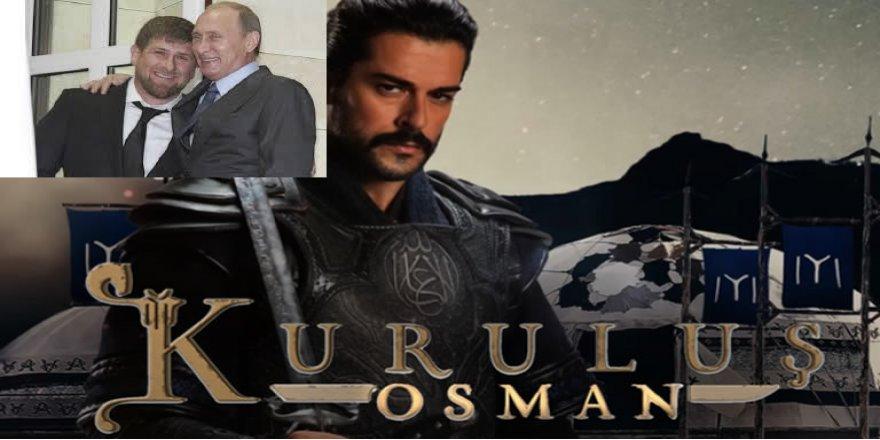 """""""Kuruluş Osman"""" Oyuncuları da Kadirov İçin Seferber Oldu"""